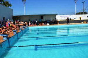 Domingo tem Festival Apanasc de Natação na piscina do Luisão