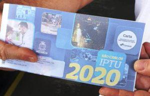 Prefeitura prorroga por 90 dias o prazo de pagamento do IPTU em São Carlos