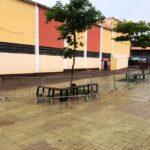Prefeitura instala gradil na Praça do Mercado, Kartódromo e Pista de Skate